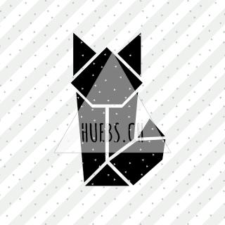 Plottermotiv Origami Fuchs
