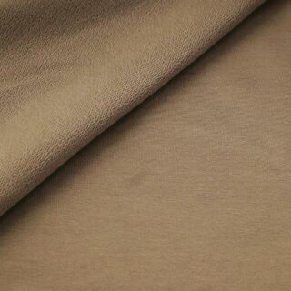 French Terry - dünner Sweatshirtstoff - Camel Beige