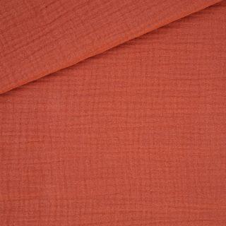 Musselin Rost-Orange