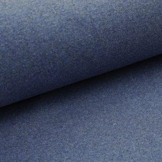 Bündchen Dunkles Smoky Jeansblau meliert