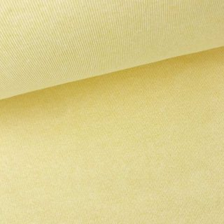 Bündchen gerippt - Vanillegelb meliert