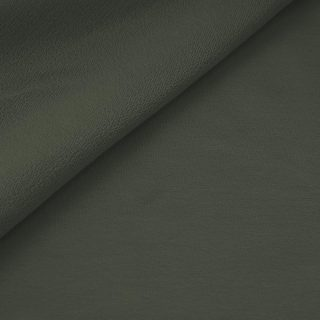 French Terry - dünner Sweatshirtstoff - Dunkles Khaki