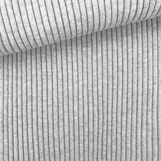 Breitrip Buendchen - Hellgrau meliert
