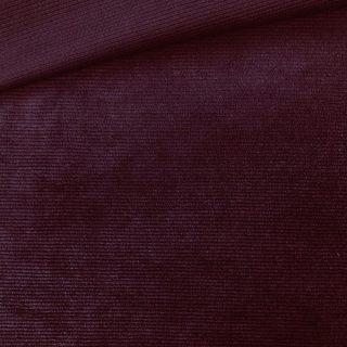 Mini-Mini-Kuschelrip Jersey - Dunkles Fuchisa