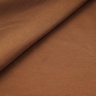 French Terry - dünner Sweatshirtstoff - Kupfer Camel