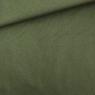 Stretch Twill - Khaki Grün