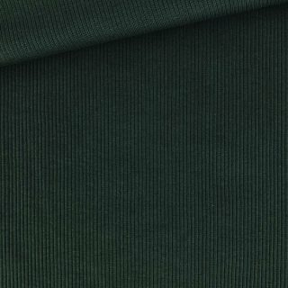 Bündchen gerippt - Dunkles Tannengrün