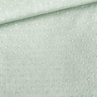 Baumwolle - Dots Pastell-Mintgrün
