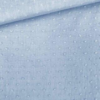 Baumwolle - Dots Zartsblau