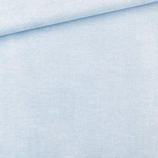Baumwollstoff - Hellblau Melange