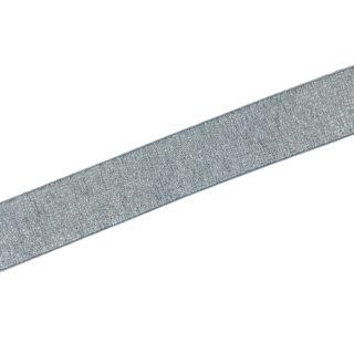 Gummiband Graublau Silber - 30 mm