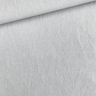 Popeline gewaschen - Hellgrau