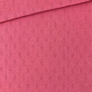 Pointoille Jersey - Raspberry