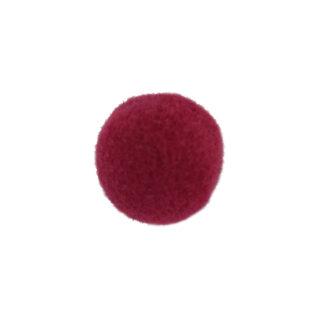 vPompon - 22 mm - Dunkle Kirsche