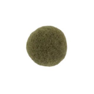 Pompon - 22 mm - Olivgrün