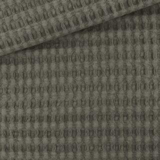 XL Waffelpique - Grey Taupe