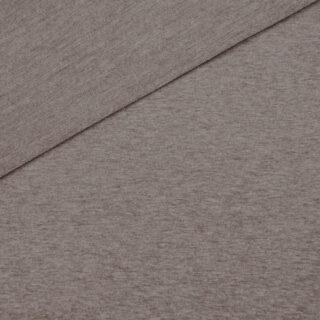French Terry - dünner Sweatshirtstoff - Schlamm meliert