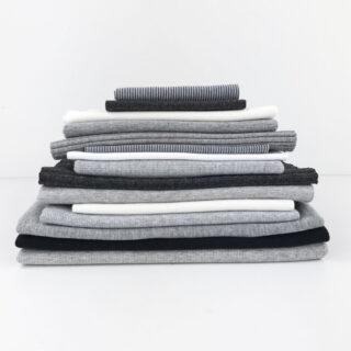 Bündchen Paket - Grey & Basic