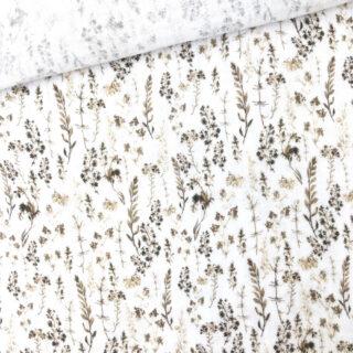 Musselin - Dry Grasses Warmweiß