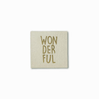 Label WONDERFUL - White Sand