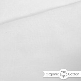Interlock Jersey - Weiß - ORGANIC