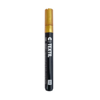 Textilstift - Gold 3 mm - dunkle Stoffe
