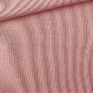 Rippenjersey - Coral Clay