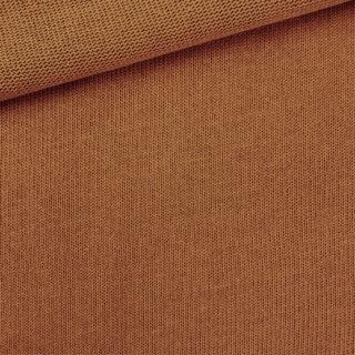 Baumwoll-Feinstrickstoff - Kupfer