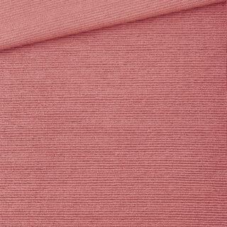 Cotton Terry - Streifenstruktur - Coral Clay