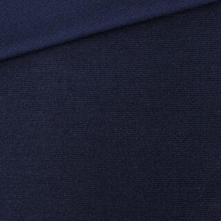 Cotton Terry - Streifenstruktur - Navyblau