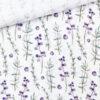 Musselin - Blueberries & Branches Warmweiß