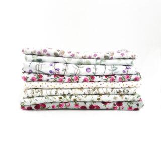 Musselin Paket - Summer Flowers