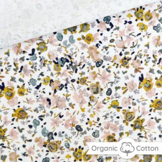 Single Jersey - Bloom Weiß - ORGANIC
