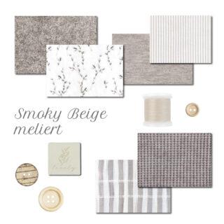 Farbpaket - Smoky Beige meliert