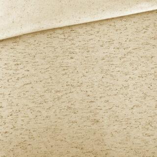 French Terry - leichter Kuschelsweat - Dusty Sand mit schwarzen Sprenkeln