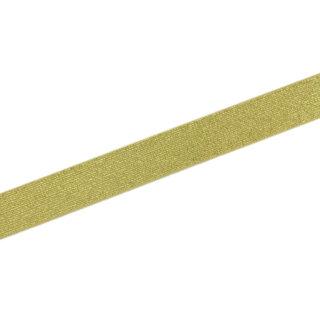Gummiband Gold - 25 mm