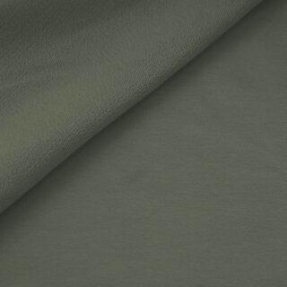 French Terry - dünner Sweatshirtstoff - Khaki-grün