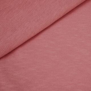 French Terry - dünner Sweatshirtstoff - Faded Rose