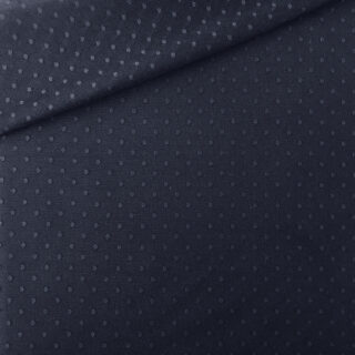 Tüllstoff - Dots Dunkelblau