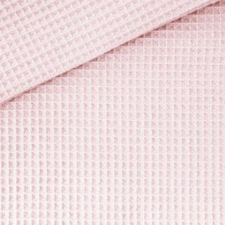 Waffelpique - Helles Puderrosa