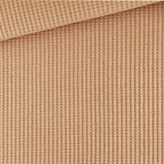 Soft-Waffel-Jersey - Caramel