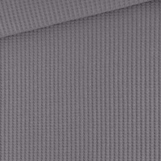 Soft-Waffel-Jersey - Dark Grey Taupe