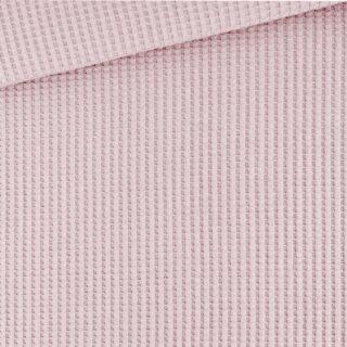 Soft-Waffel-Jersey - Helles Altrosa