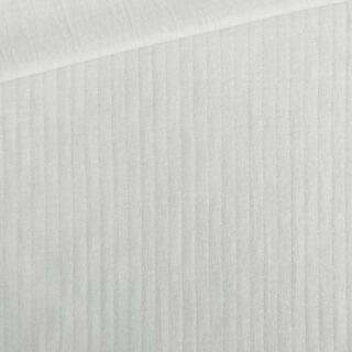 Doubleface Jersey - Waffeloptik - Warmweiß
