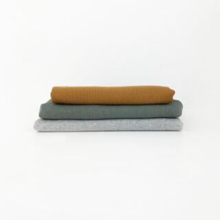 Mini Rippenjersey Paket - 1 m - Jungs-Farben