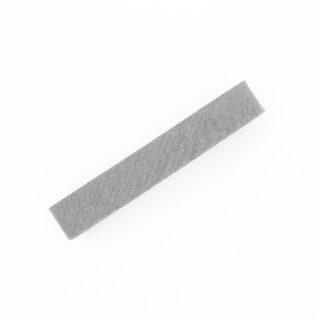 Schrägband - 3m - Silbergrau