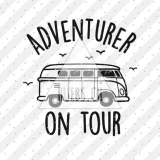 Plottermotiv - Adventurer on tour
